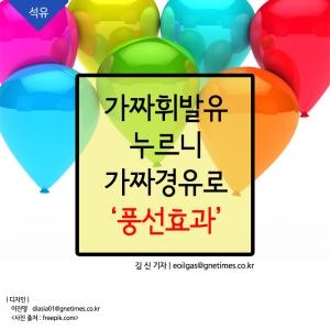[석유] 가짜휘발유 누르니 가짜경유로, '풍선효과'